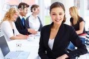 В крупную компанию идет набор сотрудников для работы в интернет.